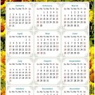 2022 Magnetic Calendar - Today is My Lucky Day - Themed 030 (5,25 x 8)