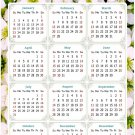 2022 Magnetic Calendar - Today is My Lucky Day - Themed 029 (5,25 x 8)