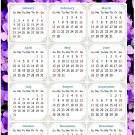 2022 Magnetic Calendar - Today is My Lucky Day - Themed 026 (5,25 x 8)