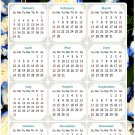 2022 Magnetic Calendar - Today is My Lucky Day - Themed 025 (5,25 x 8)