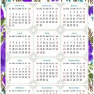 2022 Magnetic Calendar - Today is My Lucky Day - Themed 024 (5,25 x 8)
