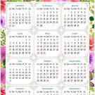 2022 Magnetic Calendar - Today is My Lucky Day - Themed 023 (5,25 x 8)