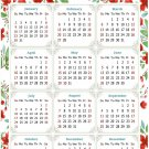 2022 Magnetic Calendar - Today is My Lucky Day - Themed 019 (5,25 x 8)