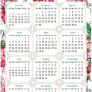 2022 Magnetic Calendar - Today is My Lucky Day - Themed 018 (5,25 x 8)