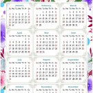 2022 Magnetic Calendar - Today is My Lucky Day - Themed 017 (5,25 x 8)
