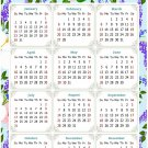 2022 Magnetic Calendar - Today is My Lucky Day - Themed 016 (5,25 x 8)