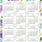 2022 Magnetic Calendar - Today is My Lucky Day - Themed 015 (5,25 x 8)