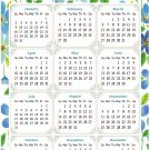 2022 Magnetic Calendar - Today is My Lucky Day - Themed 014 (5,25 x 8)