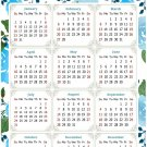 2022 Magnetic Calendar - Today is My Lucky Day - Themed 013 (5,25 x 8)