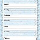 Magnetic Dry Erase Calendar - White Board Planner for Refrigerator - 3/023
