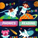 First Grade Educational Workbooks - Good Grades - Reading, Phonics, Addition, & Subtraction - v8
