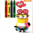 Despicable Me 3 - Coloring & Activity Book over 30 Stickers Included
