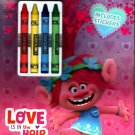 Trolls - Love is the Hair - Coloring & Activity Book with Includes Stickers