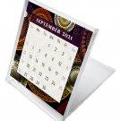 2021 - 2022 CD-Style Desk Calendar 16 Months Calendar / Planner / (Edition #012)
