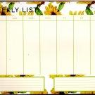 "Desk Pad Weekly Planner Calendar 9.75"" X 6.75"" - v2"