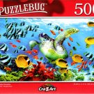 Sea Turtle Paradise - 500 Pieces Jigsaw Puzzle