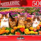 Cute Kitten on The Grass - 500 Pieces Jigsaw Puzzle