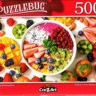 Rainbow Breakfast Bow - 500 Pieces Jigsaw Puzzle