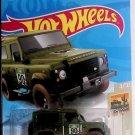 Hot Wheels 2021 HW Baja Blazers 4/10 Green Land Rover Defender 90 32/250