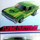 Hot Wheels 68 Nova Green Flying Customs1/64