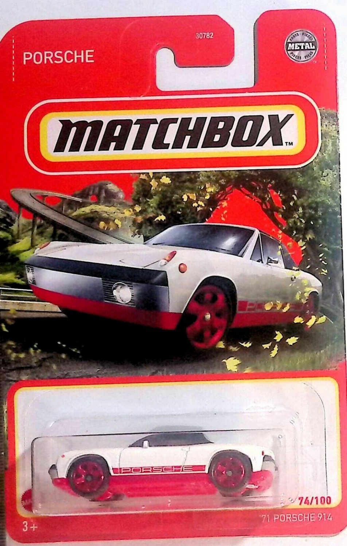 2021 Matchbox '71 Porsche 914 MBX Road Trip White