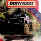Matchbox 2020 MBX jungle 1968 dodge D200 black # 65 / 100