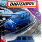 2020 Matchbox 2015 Mercedes-Benz G 550 MBX Highway - Blue