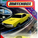 2021 Matchbox 1970 Plymouth Cuda Yellow MBX Highway 56/100