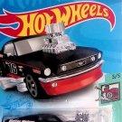 Mattel Hot Wheels 2021 Tooned 3/5 BLACK '68 Mustang 40/250