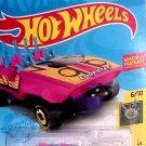 Hot Wheels PINK Experimotors 6/10 LOOPSTER 53/250