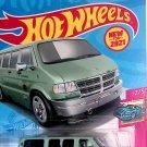 Hot Wheels 2021 Case Dodge Van 50/250 HW Drift 2/5 New Teal Gray