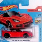 Hot Wheels '19 CORVETTE ZR1 CONVERTIBLE 2/10 Red (Short Card)