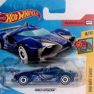 Hot Wheels 2019 HW Art Cars Blue Mach Speeder #8/10 (Short Card) New!