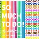 2021 - 2022 Student Academic Planner Calendar - (Spiral Bound) + 100 Reminder Stickers v4