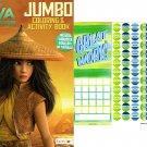 Disney Raya and The Last Dragon - Jumbo Coloring & Activity Book + Award Stickers and Charts