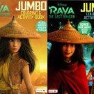 Disney Raya and The Last Dragon - Jumbo Coloring & Activity Book (Set of 2 Books) v2