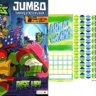 Teenage Mutant Ninja Turtles - Rise Up! - Jumbo Coloring & Activity Book + Award Stickers and Charts