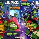 Nickelodeon Teenage Mutant Ninja Turtles - Jumbo Coloring & Activity Book (Set of 2 Books)