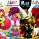 Trolls - Jumbo Coloring & Activity Book (Set of 2 Books)