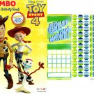 Toy Story 4 - Jumbo Coloring & Activity Book + Award Stickers and Charts