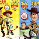Toy Story 4 - Jumbo Coloring & Activity Book (Set of 2 Books)