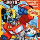 Transformers Rescue Bots - Super Coloring & Activity Book Include Stickers