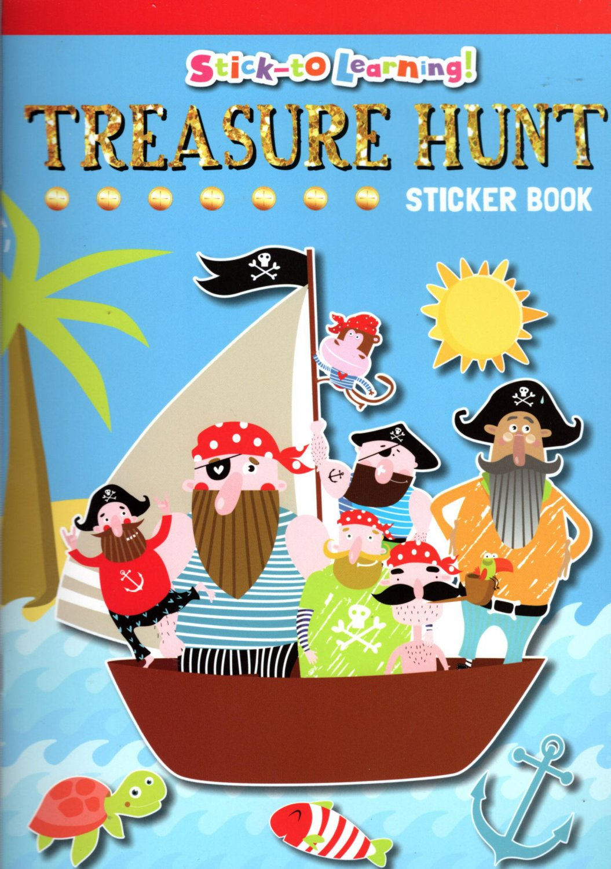 Stick-to Learning - Treasure Hunt - Sticker Book