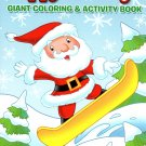Christmas Edition Giant Coloring and Activity Book 160 Page ~ Happy Holidays Book!