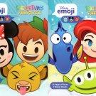 Disney Emoji - StickerTivity - Funny & Faces (Set of 2 Books) v2