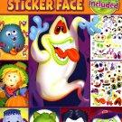 Spooky Sticker Face - Halloween Sticker Activity Book v1