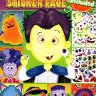 Spooky Sticker Face - Halloween Sticker Activity Book v2
