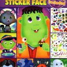 Spooky Sticker Face - Halloween Sticker Activity Book v4