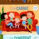 I am Confident, I am Respectful, I am Caring - Children's Board Book (Set of 3 Books)