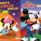 Disney Junior Mickey - Mickey`s Halloween Treat, Mystery - Children's Book (Set of 2 Books)